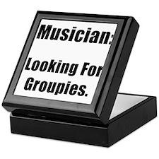 Musician Groupies Keepsake Box