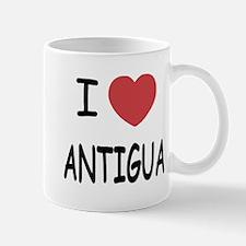 I heart antigua Mug