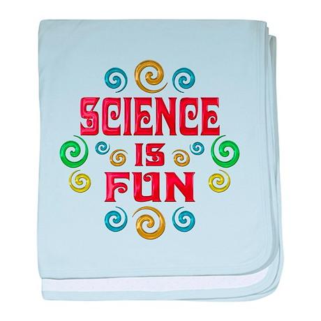 Science is Fun baby blanket