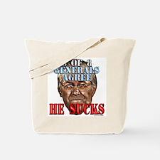 Rumsfeld Sucks say Generals Tote Bag