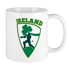 Cricket Batsman Ireland Small Mugs