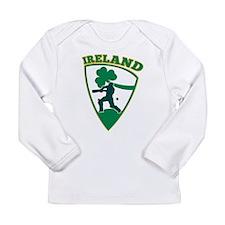 Cricket Batsman Ireland Long Sleeve Infant T-Shirt