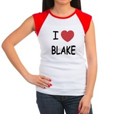 I heart blake Women's Cap Sleeve T-Shirt