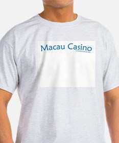 Macau Casino - Ash Grey T-Shirt