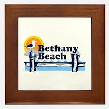 Bethany Beach DE - Pier Design. Framed Tile