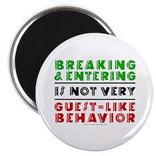 Illegals Breaking & Entering Magnet