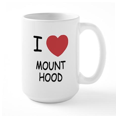 I heart mount hood Large Mug