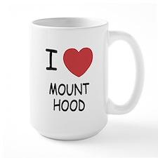 I heart mount hood Mug