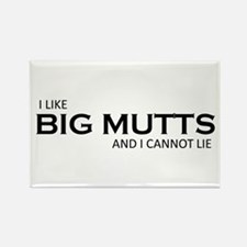 Big MUTTS Rectangle Magnet