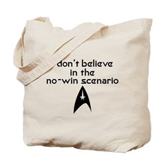 No-Win Scenario Tote Bag