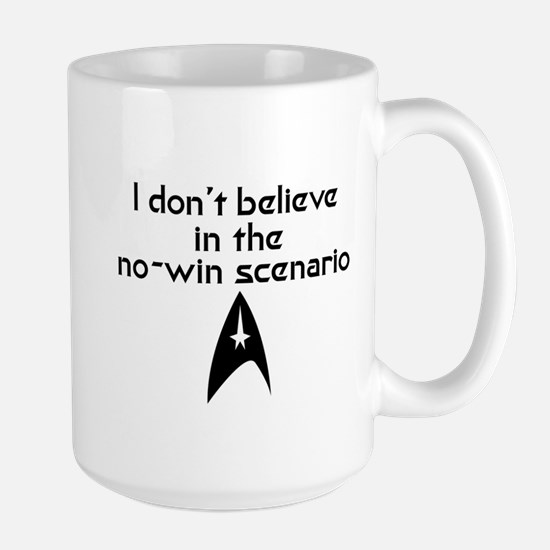 No-Win Scenario Large Mug