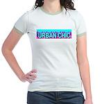 Urban Chic Skyline Jr. Ringer T-Shirt