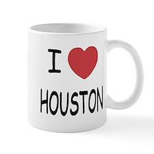 I heart houston Mug