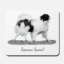 Japanese Spaniel Mousepad