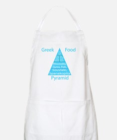 Greek Food Pyramid Apron