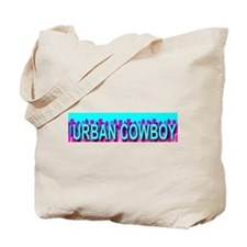 Urban Cowbow Skyline Tote Bag