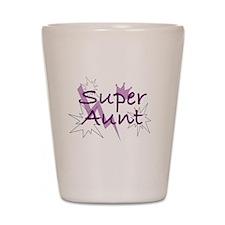 Super Aunt Shot Glass