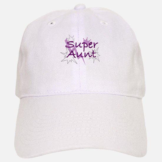 Super Aunt Baseball Baseball Cap