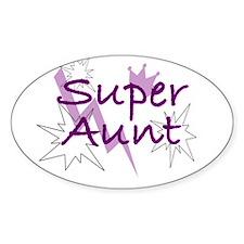 Super Aunt Decal