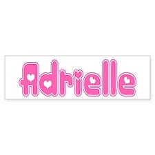 """Adrielle"" Bumper Bumper Sticker"
