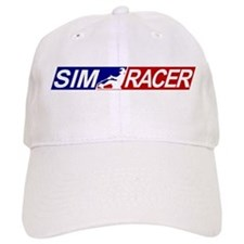 SimRacerLogo Baseball Cap
