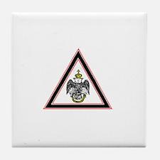 Scottish Rite Emblem Tile Coaster