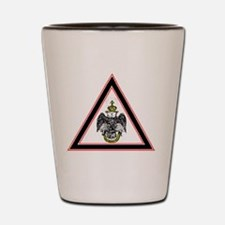 Scottish Rite Emblem Shot Glass