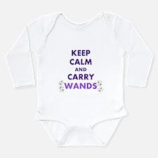 Carry Wands Long Sleeve Infant Bodysuit