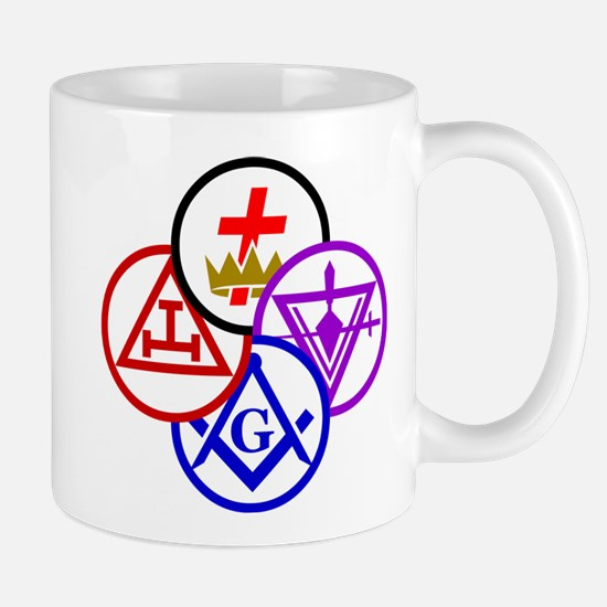 York Rite Pinwheel Mug