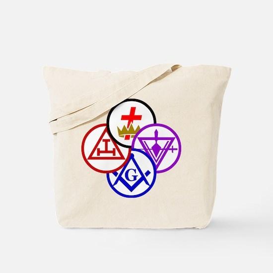 York Rite Pinwheel Tote Bag