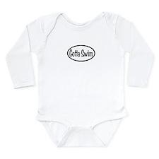 Swim Oval Long Sleeve Infant Bodysuit