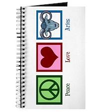 Peace Love Aries Journal