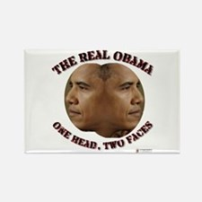 The Real Obama Rectangle Magnet
