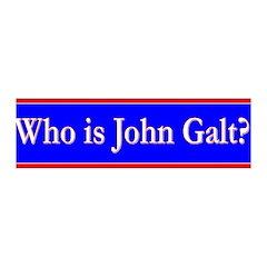 John Galt 42x14 Wall Peel