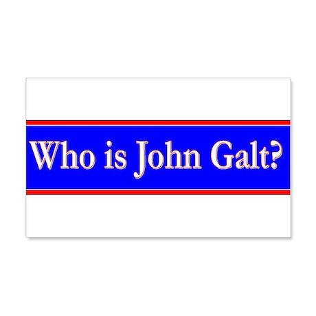 John Galt 22x14 Wall Peel