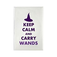 Carry Wands Rectangle Magnet