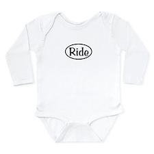 Ride Oval Long Sleeve Infant Bodysuit