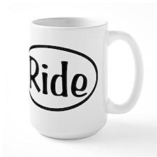 Ride Oval Mug