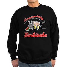 Awesome Being Burkinabe Sweatshirt