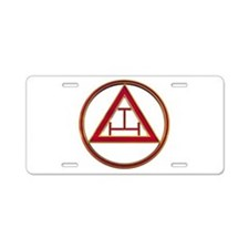 Royal Arch Aluminum License Plate
