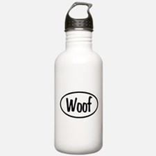 Woof Oval Water Bottle