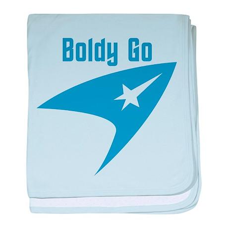 Boldly Go baby blanket