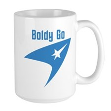 Boldly Go Mug