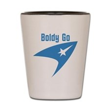 Boldly Go Shot Glass