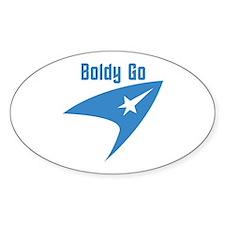 Boldly Go Decal
