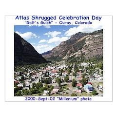 Atlas Shrugged Celebration Day Posters