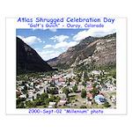 Atlas Shrugged Celebration Day Small Poster