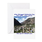 Atlas Shrugged Celebration Day Greeting Cards (Pk