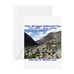 Atlas Shrugged Celebration Day Greeting Card