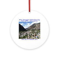 Atlas Shrugged Celebration Day Ornament (Round)